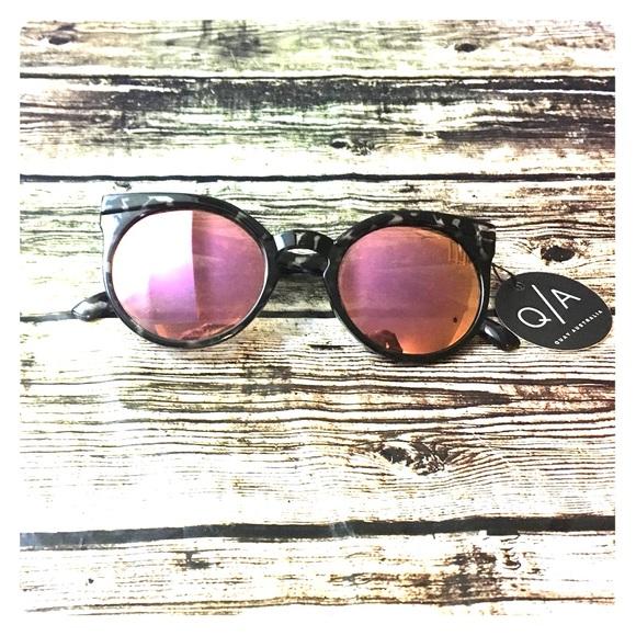 c00c28fc6a Quay Australia Kosha Cat Eye Mirrored Sunglasses